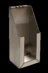Edelstahlhalterung für diverse Pumpbehälter